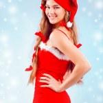 Sexy mrs. Santa — Stock Photo
