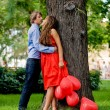 Kissing couple — Stock Photo #1246807