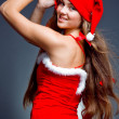 Pretty Santa girl — Stock Photo #1246832