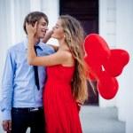 couple de baiser — Photo