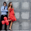 Fashion couple — Stock Photo #1247120