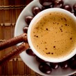 Coffee with chocolate — Stock Photo