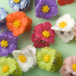 Floral hairpins — Stock Photo