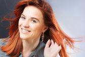 Redheaded woman — Stock Photo