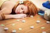 Relaxation in spa salon — Stock Photo