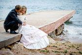 Romance de la boda — Foto de Stock