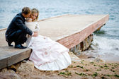 Wedding romance — Stock Photo