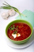 Gorący obiad — Zdjęcie stockowe