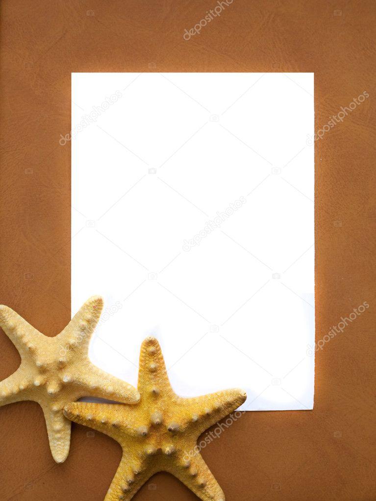 Sea frame - Stock Image