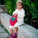 módní holčička — Stock fotografie