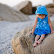 Little girl at beach — Stock Photo #1251329