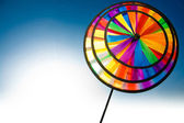 Colourful pinwheel — Stock Photo