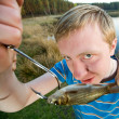 Stock Photo: Fine catch of fish