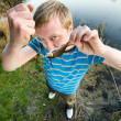Fine catch of fish — Stock Photo