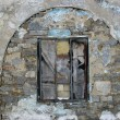 Old stone wall with a window — Stock Photo #1189646
