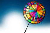 Colourful pinwheel — Stock Photo