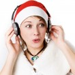 Woman with headphones — Stock Photo #1265021