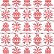Royalty-Free Stock Vector Image: Xmas pattern
