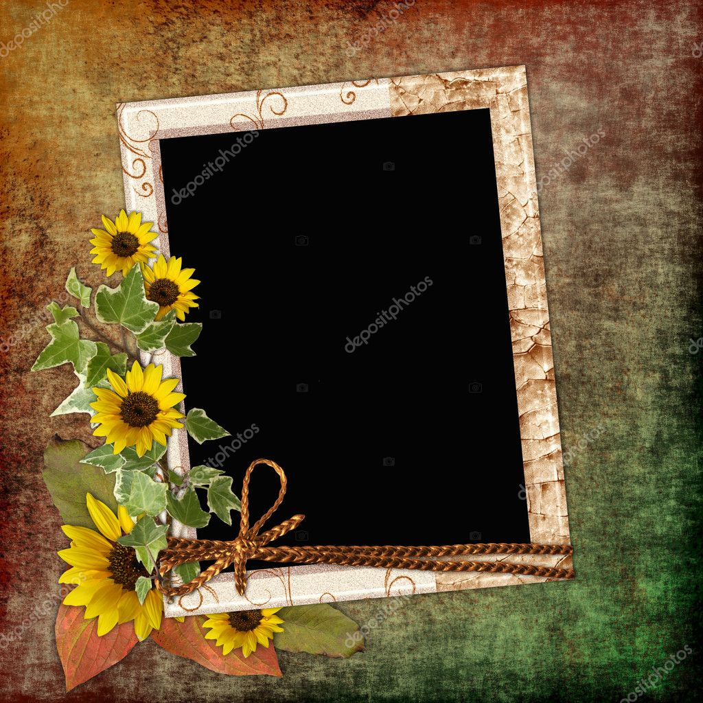 Vintage album page  Stock Photo #1158701