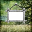 Background with frame — Stock Photo