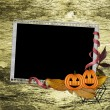 Royalty-Free Stock Photo: Framework For Halloween Congratulations