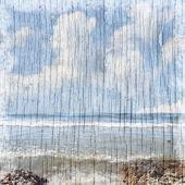 Summer beach background — Stock Photo