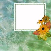 Framework for invitation or congratulati — Stock Photo