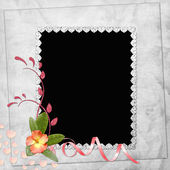 Abstract background with frame — Stock Photo