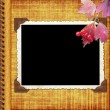 Album page with frame — Stock Photo #1190061