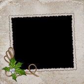 Framework for invitations on the vintage — Stock Photo