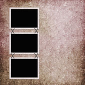 Abstract background with frames — Stock Photo