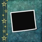 Dark cyan cover for an album — Stock Photo