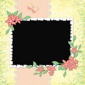 Framework for invitation — Stock Photo