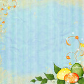 Spring or Easter background — Stock Photo