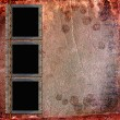 Picture Frames on leather background — Stock Photo #2391229