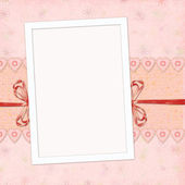 Children's frame for the girl — Stock Photo