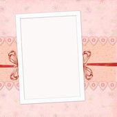 Children's frame for the girl — Stock Photo