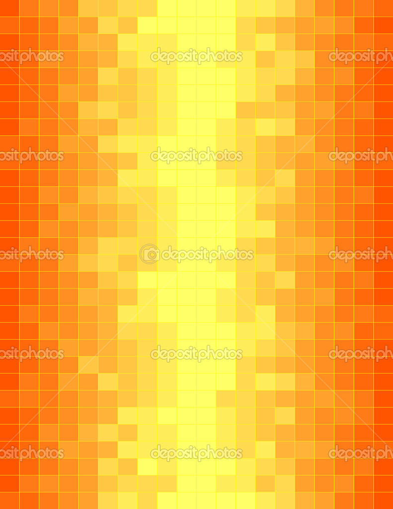 Colorful orange mosaic. Vector illustration  Stock Vector #1188475