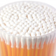 Set of cotton sticks - Stock Photo