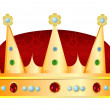 Stock Vector: Crown