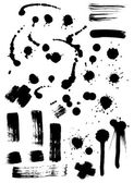 Collection Of Ink — Stock Vector