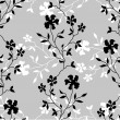 Seamless floral background — Stock Vector