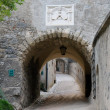 Royalty-Free Stock Photo: Archway in Hohenwerfen medieval castle