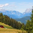 Mountainous alpine landscape in Austria — Stock fotografie