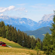 Mountainous alpine landscape in Austria — Foto de Stock
