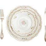 Vintage dinner set — Stock Photo #1174251