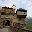 Stock Photo: Gate of medieval castle in Austria