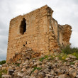 Ruins of ancient Crusader castle — Stock Photo