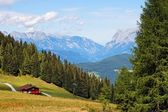 Mountainous alpine landscape in Austria — Stock Photo