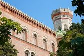 Neo-Byzantine tower in Vienna Arsenal — Stock Photo
